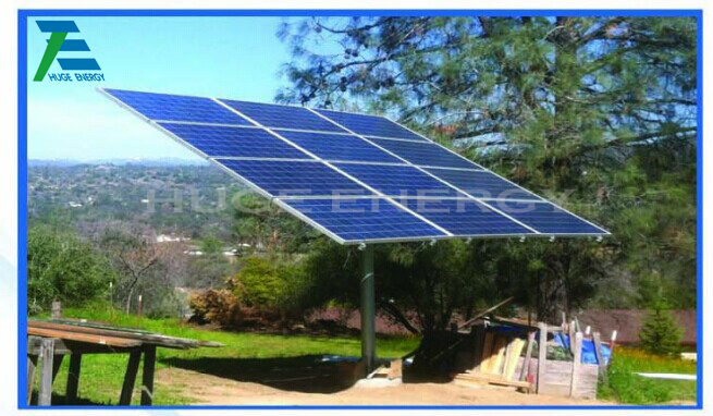 Pole Ground Solar Mounting System
